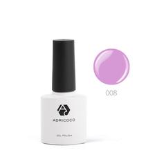 Цветной гель-лак ADRICOCO №008 ярко-лиловый (8 ...