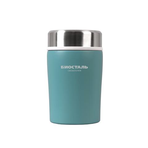 Термос для еды Biostal Crosstown (0,5 литра), бирюзовый
