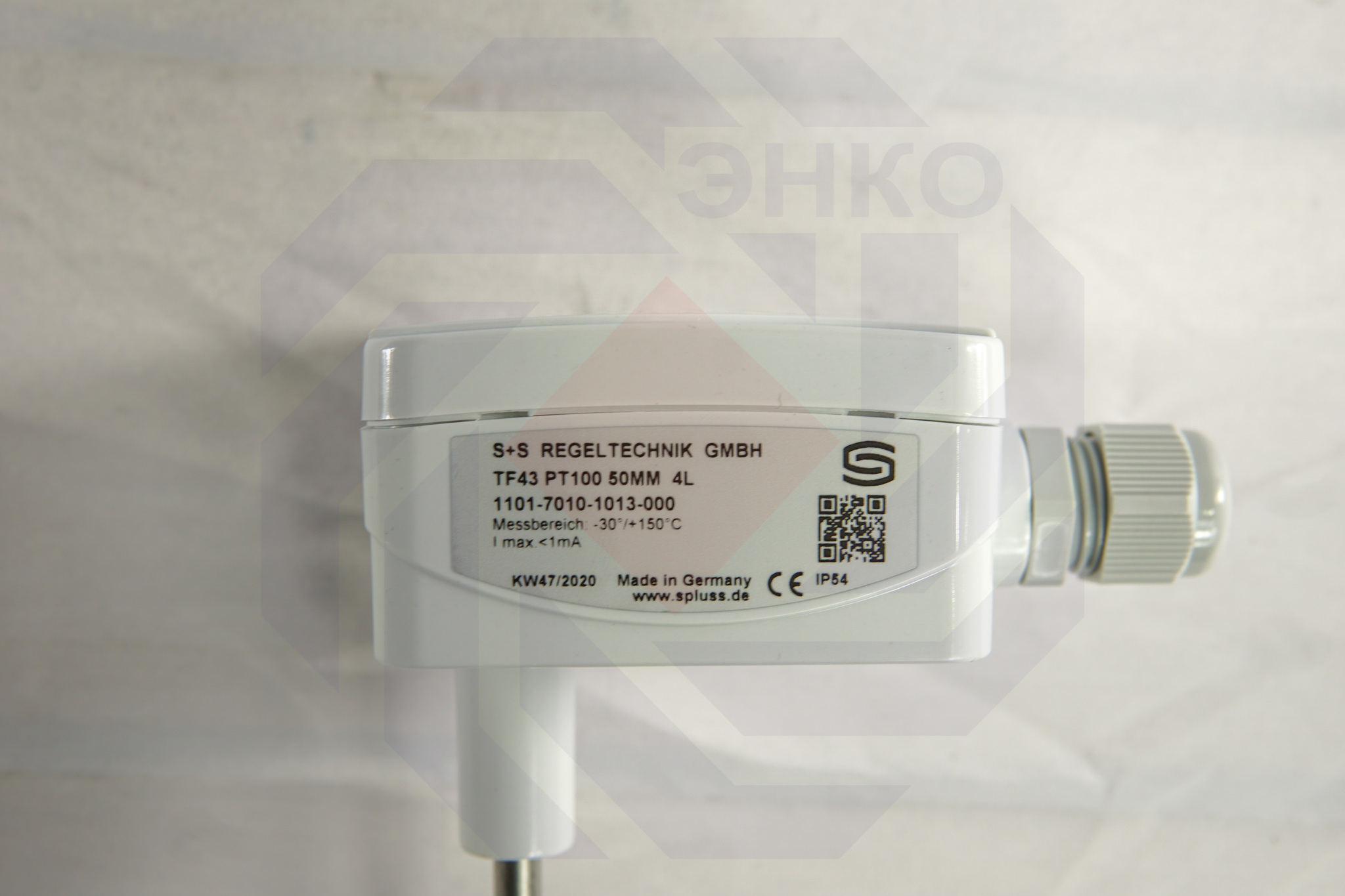 Датчик температуры погружной S+S Regeltechnik TF43 Pt100 50 мм