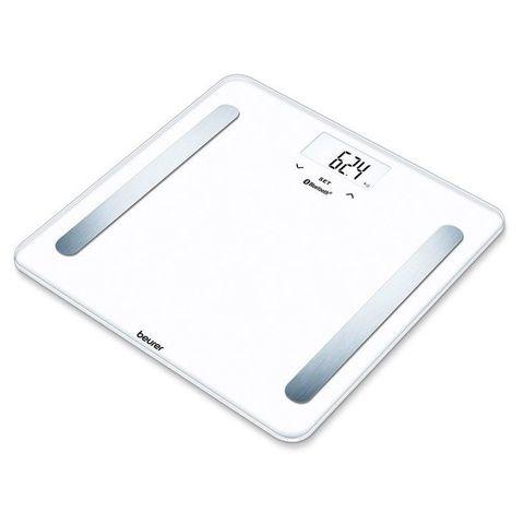 Весы напольные электронные Beurer (B-BF600W) pure макс.180кг белый