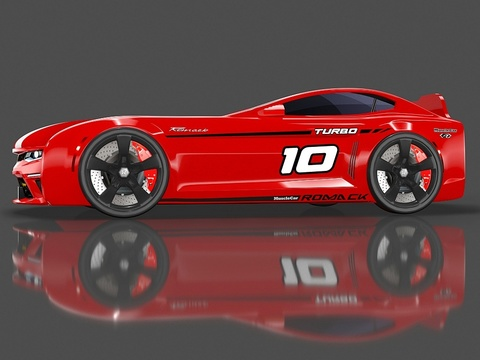 Кровать-машина Romack Energy-M Красная