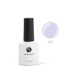 Цветной гель-лак ADRICOCO №009 светло-сиреневый...