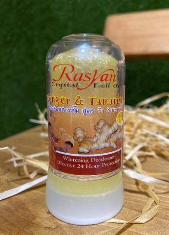 Дезодорант-кристалл с имбирем и тамариндом Rasyan 80г Тайланд