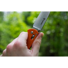 Нож Ganzo G740 (черный, оранжевый, зеленый)