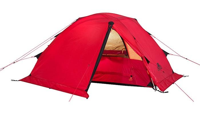 Палатка Alexika Storm 2, красно-оранжевая