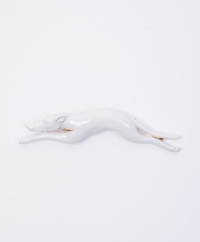 Greyhound-pin