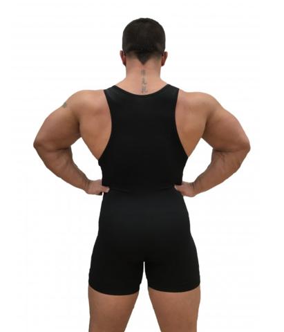 трико для пауэрлифтинга, тяжелой атлетики, борьбы модель master вид сзади