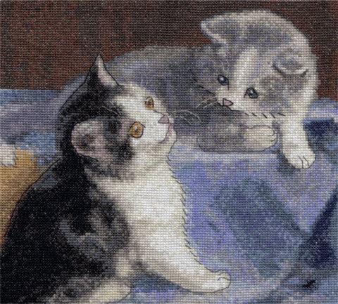 8-036 Друзья-котята