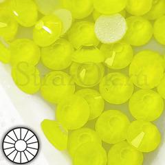 Купить клеевые неоновые стразы желтые Neon Yellow в интернет-магазине