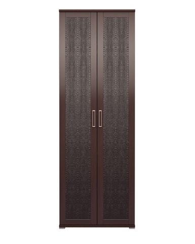 Шкаф для одежды двухдверный Аргентина 9 Ижмебель дуб тортона темный