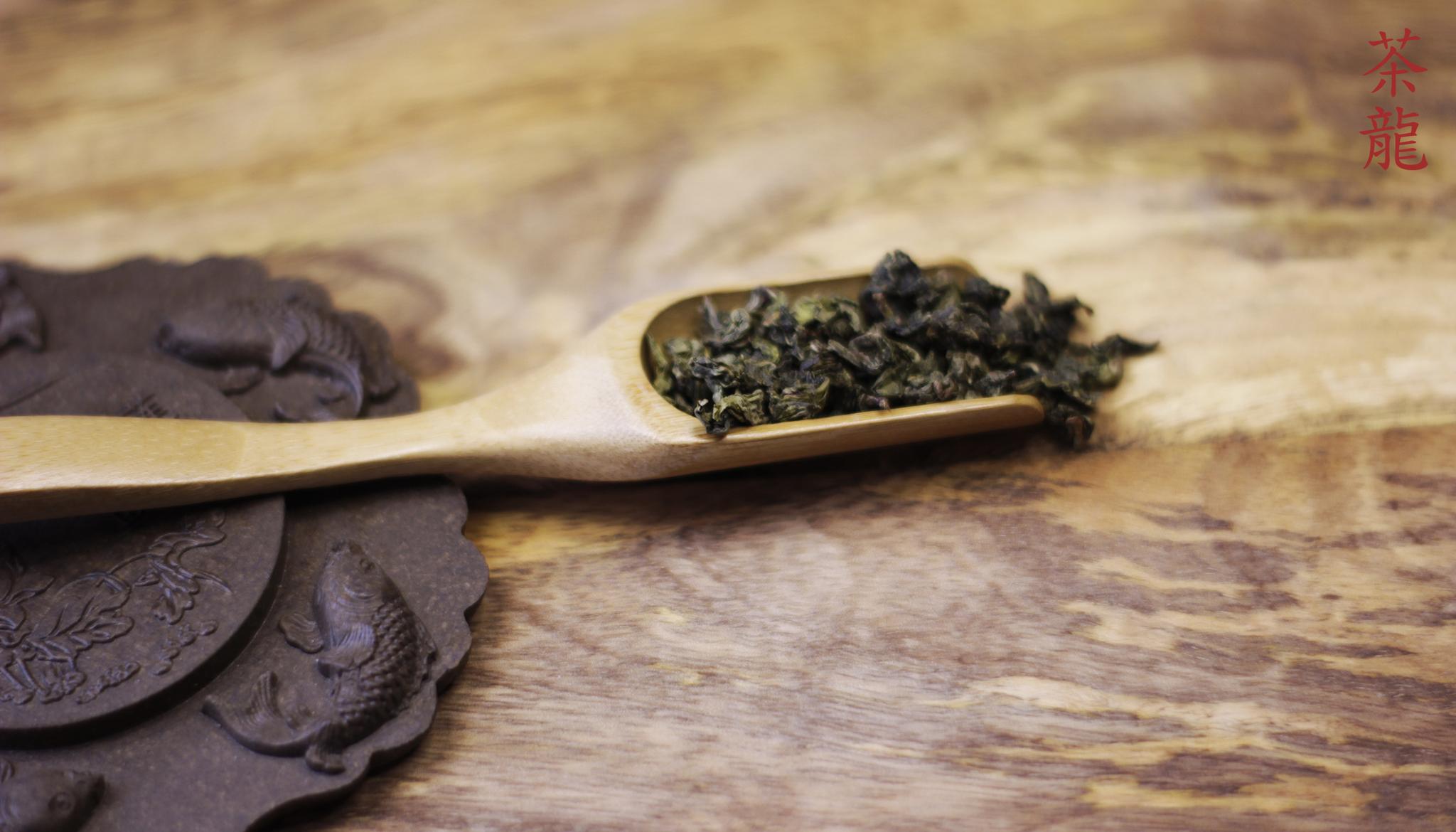 Совок для чая деревянный (бамбук)