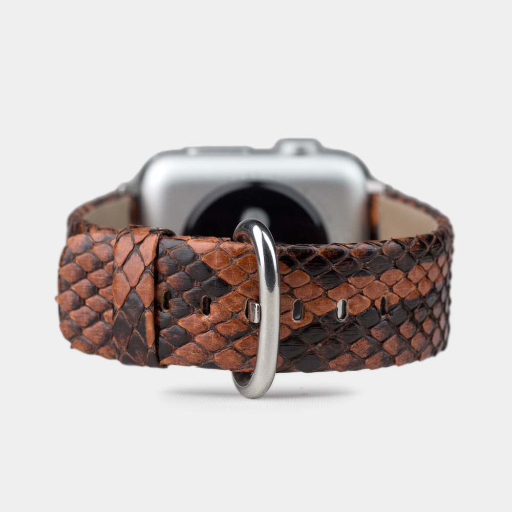 Band for AW 42/44mm — python gold