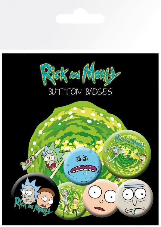 Набор значков Rick and Morty (Characters)