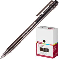 Ручка шариковая автоматическая Attache Bo-bo черная (толщина линии 0.5 мм)