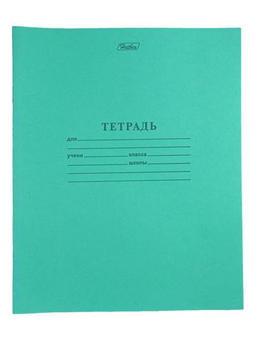 Тетрадь в линейку, зеленая, 12 листов. Цена 7 рублей. Заказывайте. Доставка.