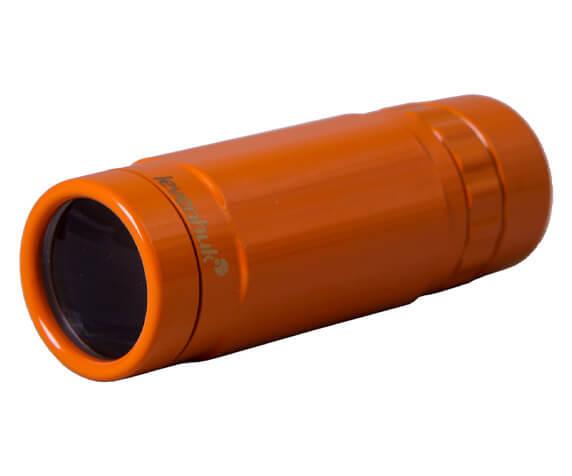 Монокуляр Levenhuk Rainbow 8x25 Sunny Orange - фото 4