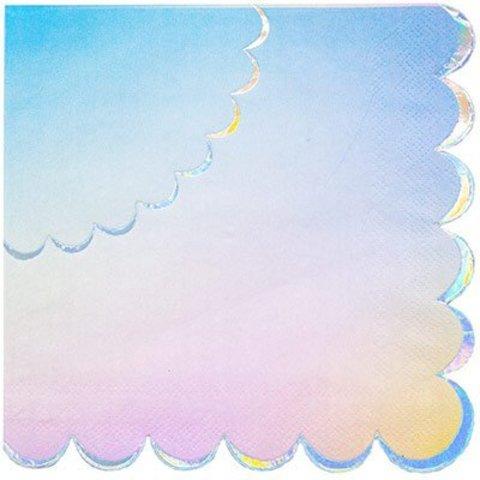 Салфетки блестящие Перламутр, 6 штук