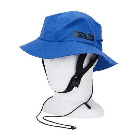 FCS Essential Surf Bucket Hat Heather Blue LG
