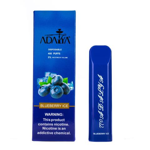 Одноразовая электронная сигарета Adalya Blueberry Ice 5% 400 затяжек