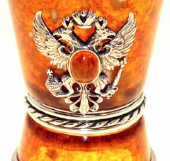 Стопка из янтаря  Державная бронза, фото 2