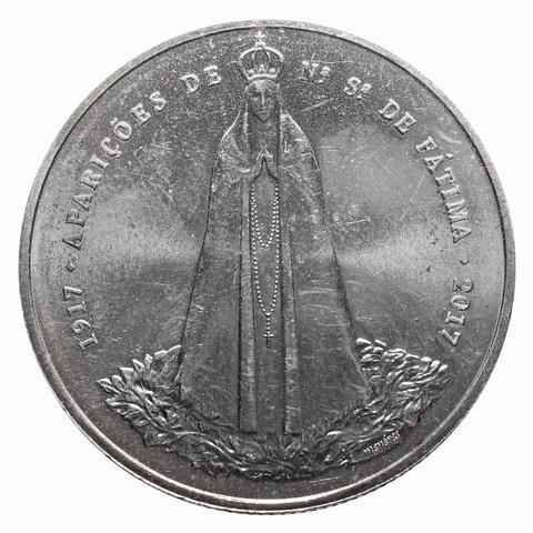 """2,5 евро  """"Пресвятая богородица в Фатиме"""" 2017 год"""
