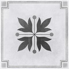 Керамогранит CERSANIT Motley 298x298 пэчворк цветы серый микс