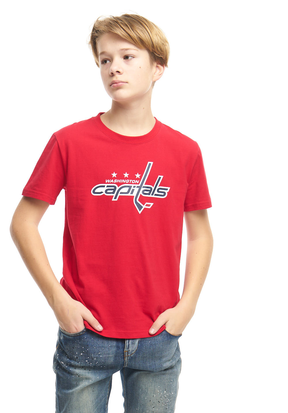 Футболка NHL Washington Capitals (подростковая)