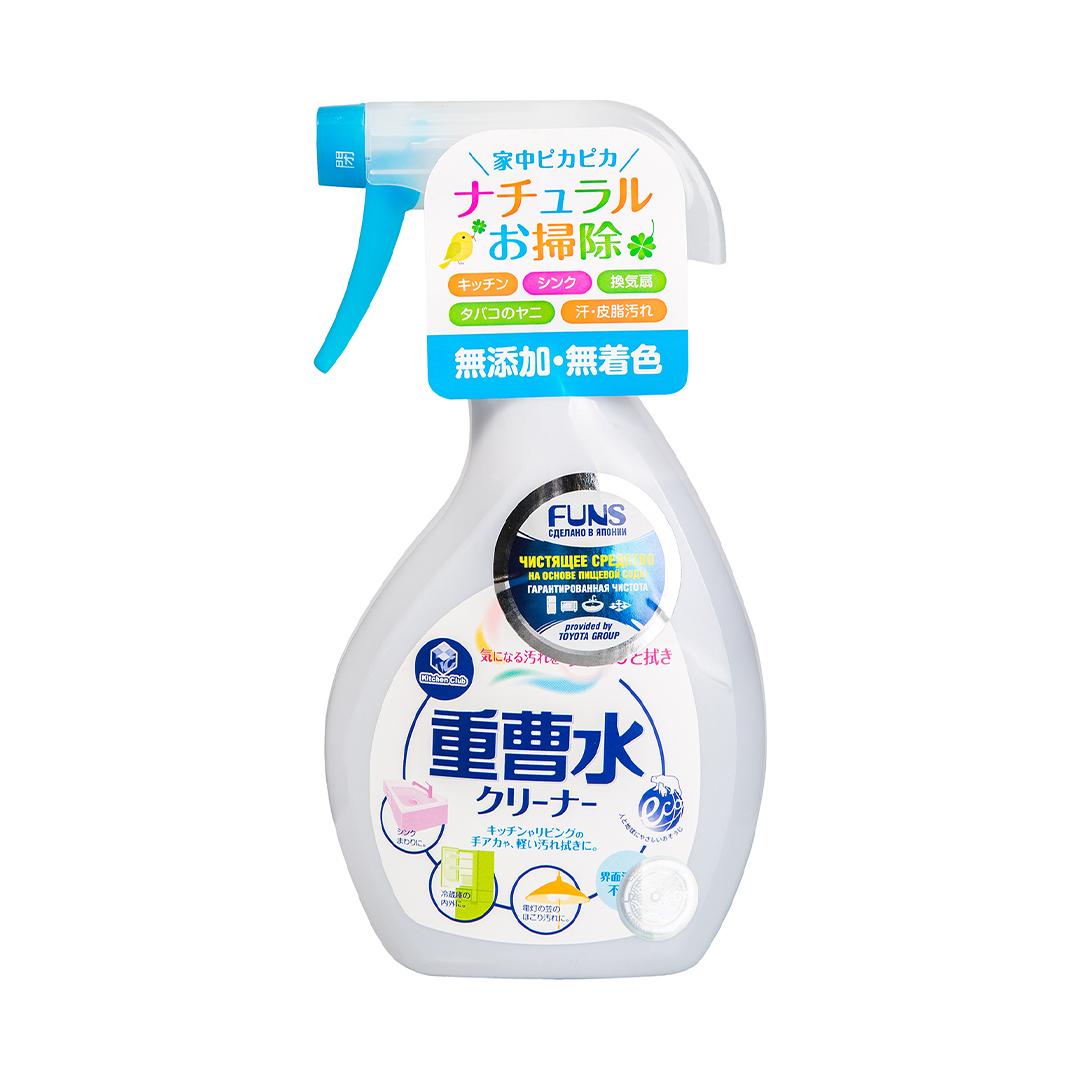 FUNS Спрей чистящий для дома на основе пищевой соды 400 мл.