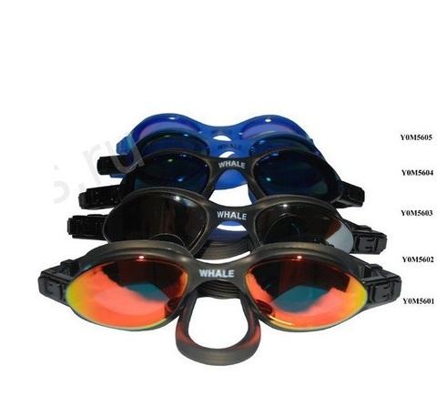 Очки для плавания для взрослых Y0М5602 многоцветные антифог