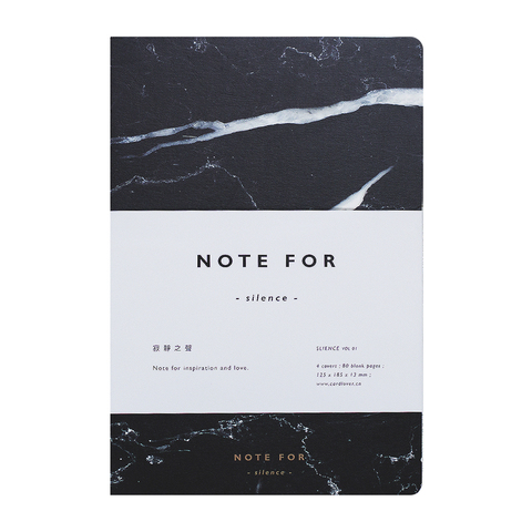 Блокнот Marble Notebook Nero