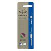 Parker Стержень для шариковой ручки (гелевый), M, синий