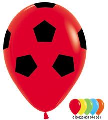 S 12''/30см, Футбольный мяч, Ассорти Пастель, 5 ст. , / 50 шт./