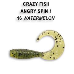 Силикон CRAZY FISH ANGRY SPIN 1