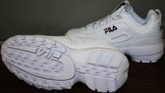 Кроссовки fila кожаные Fila Disruptor 2 all white RN-91175.