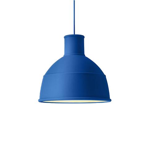 Подвесной светильник копия Unfold by Muuto D32 (синий)