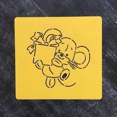 Мышка №59 с подарком