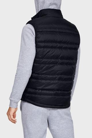 Мужской черный жилет UA Armour Down Vest Under Armour