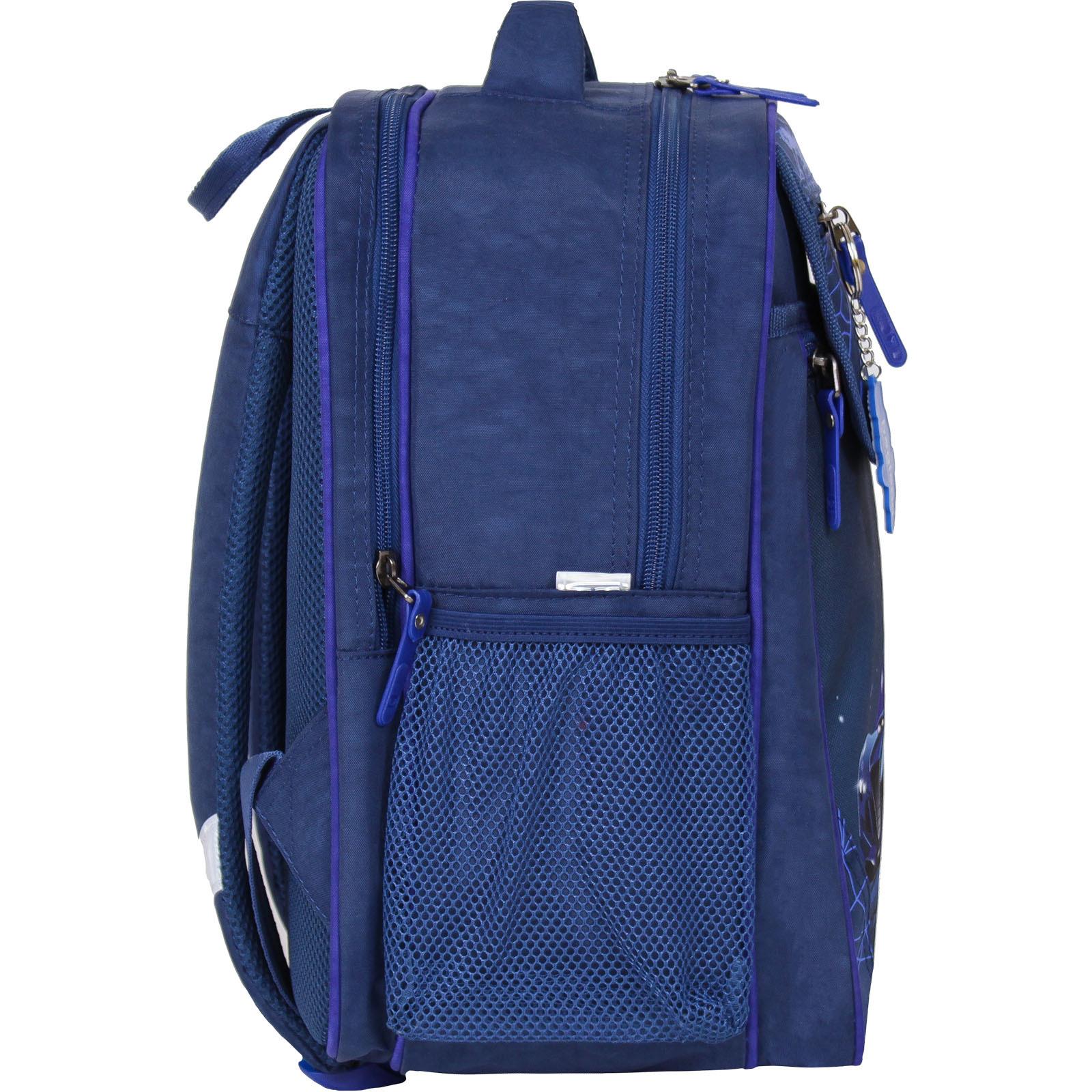 Рюкзак школьный Bagland Отличник 20 л. 225 синий 248к (0058070)