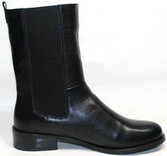 Зимние кожаные ботинки женские Richesse R-458