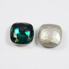 4483 Ювелирные стразы Сваровски Cushion Emerald (10 мм)