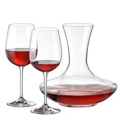 Набор для вина Rona WineSet, 3 предмета (декантер и 2 бокала), фото 2