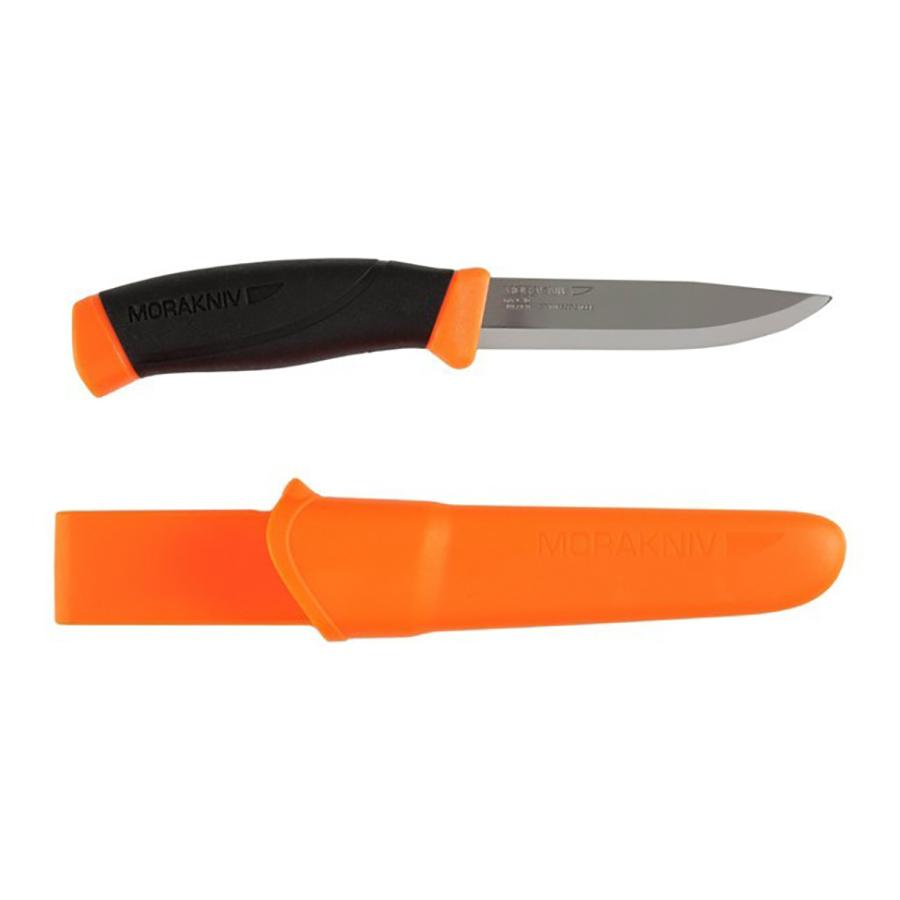 Нож Morakniv Companion Orange, нержавеющая сталь, оранжевый