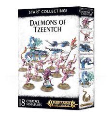 Daemons of Tzeentch. Коробка