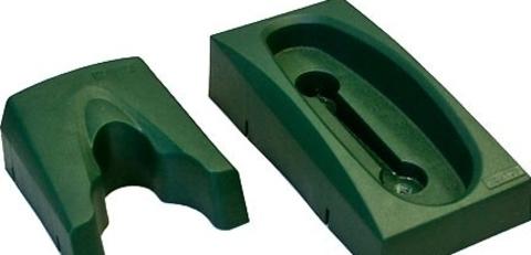 Комплект из пластикового ложемента и держателя для 1 ружья