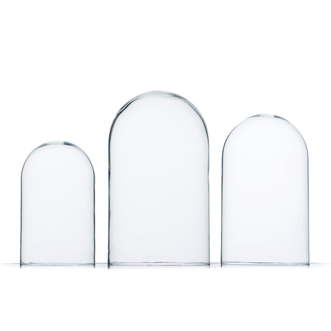 Стеклянная колба (Колпак, клош, купол, ваза, цилиндр) 30*20 см