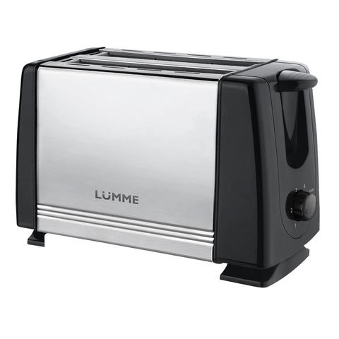 Тостер LUMME LU-1201 черный жемчуг