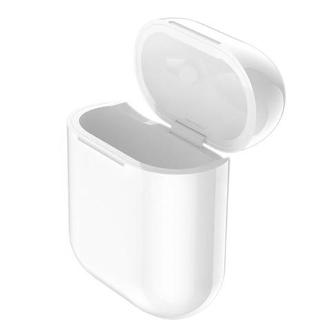 Чехол c беспроводной зарядкой Hoco CW18 Wireless Charger для AirPods (Белый)