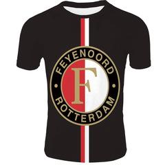 Футболка 3D принт, ФК Фейеноорд  (3Д Feyenoord Rotterdam) 04