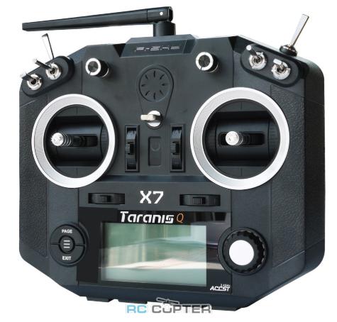 Аппаратура управления FrSky Taranis Q X7 Black 2.4 ГГц 16 каналов