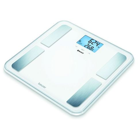 Весы напольные электронные Beurer (B-BF850W) макс.180кг белый